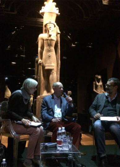 Wilbur Smith ospite del Museo Egizio di Torino