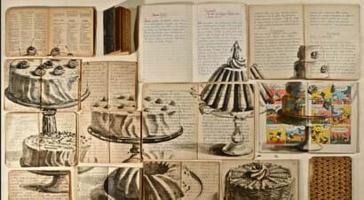 Book painting, guarda le incredibili creazioni dell'artista che