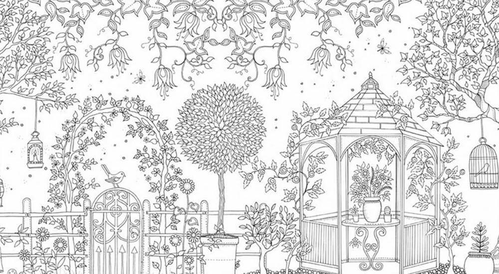 Disegni da colorare difficili pc38 regardsdefemmes for Disegno giardini