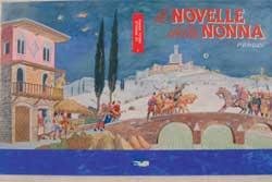 Carlo Vitoli Russo, copertina per Le Novelle della Nonna , Firenze, Salani, 1963. Tempera su cartoncino, 49 69,5 cm.