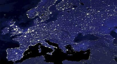 L'Italia vista dalla Luna di Cavazzoni