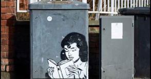 Quando la street art difende i libri e la cultura - Le immagini
