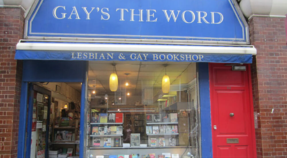 librerie londra Gay's The Word