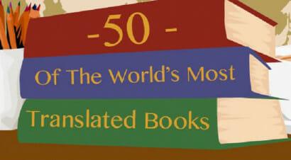 Ecco quali sono i 50 libri più tradotti al mondo