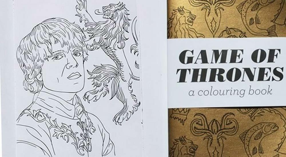 Album Da Colorare Per Adulti In Autunno Quello Di Game Of Thrones