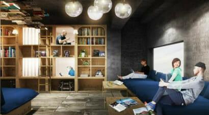 L'ostello-libreria, per trascorrere la notte tra i libri