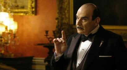 Agatha Christie al cinema e in tv: i volti dell'investigatore Poirot