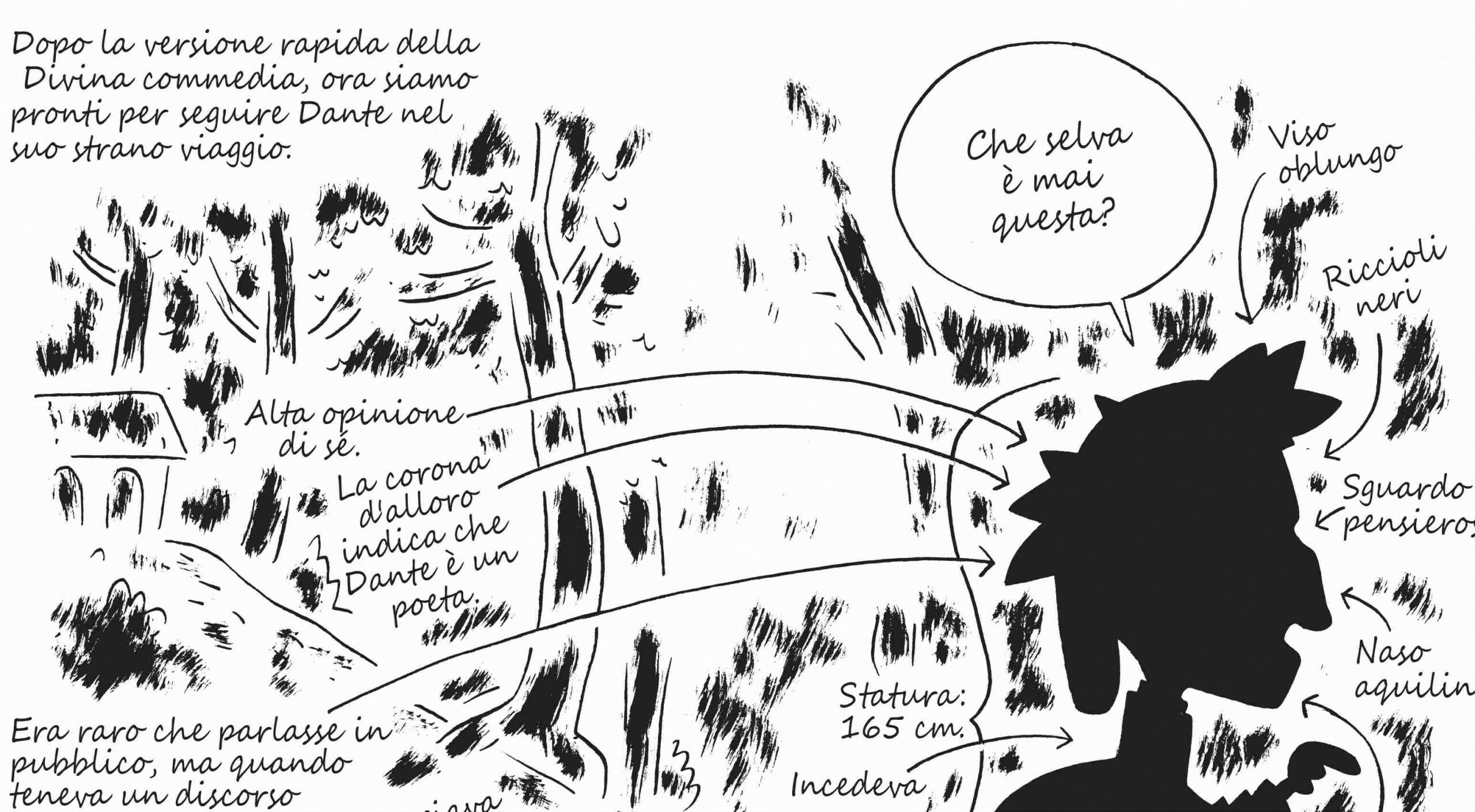 Favoloso Dante per chi ha fretta (e a fumetti): come capire la Divina  AI55