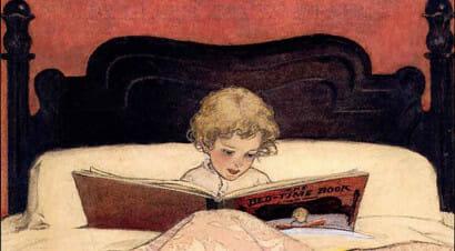 5 motivi per leggere prima di dormire