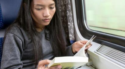 Perché è bello leggere in treno?