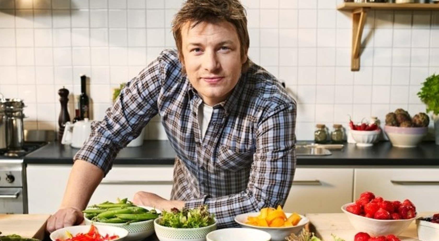 Jamie Oliver celebra la cucina italiana
