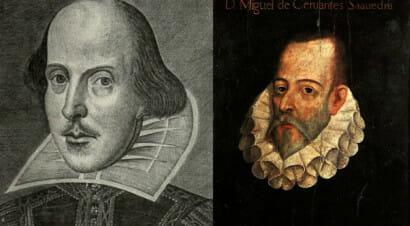 Shakespeare e Cervantes: un confronto d'autore