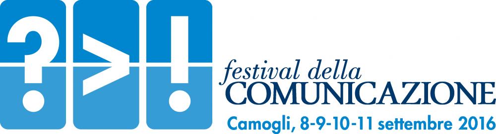 LOGO FESTIVAL DELLA COMUNICAZIONE 2016