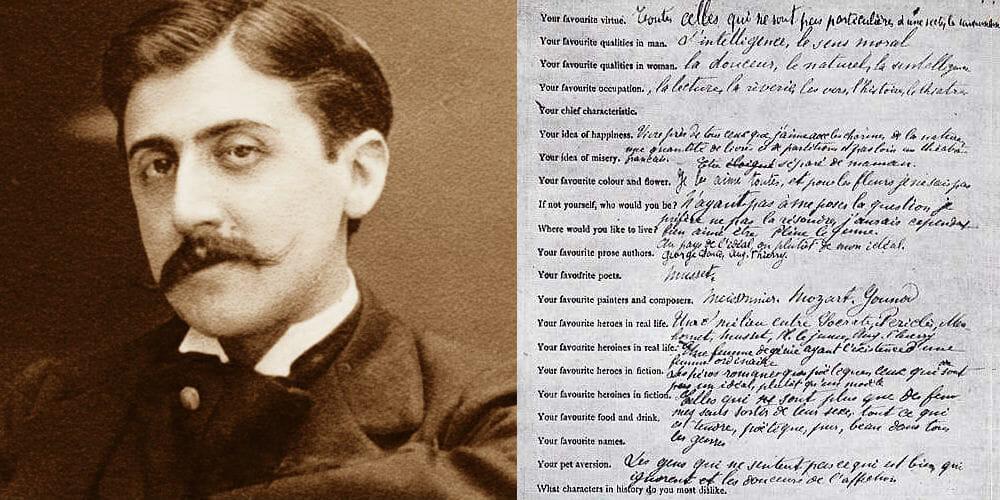 La storia del questionario di Proust