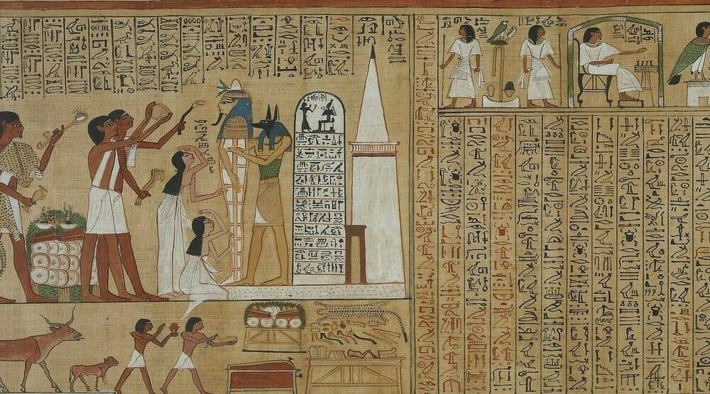 Per la prima volta raccolte in un libro le traduzioni dei geroglifici egizi