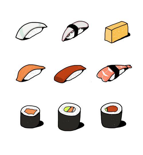 Cucina Giappone sushi