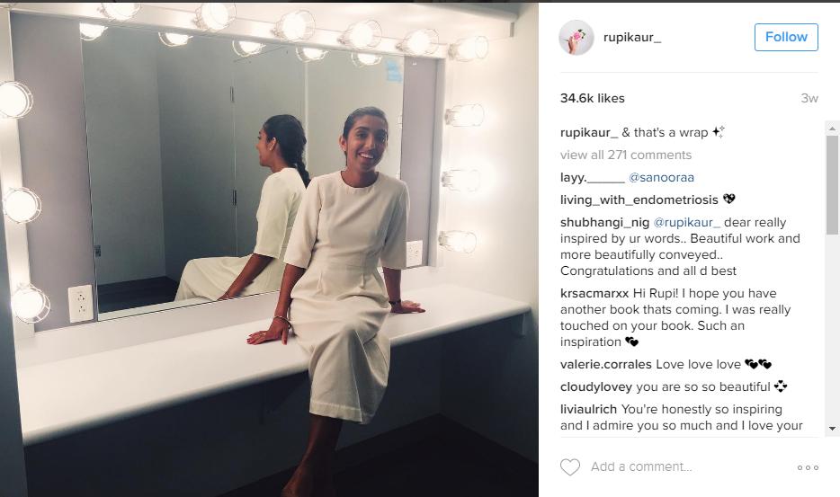 La poetessa di Instagram che lotta per le donne ha venduto mezzo milione di copie