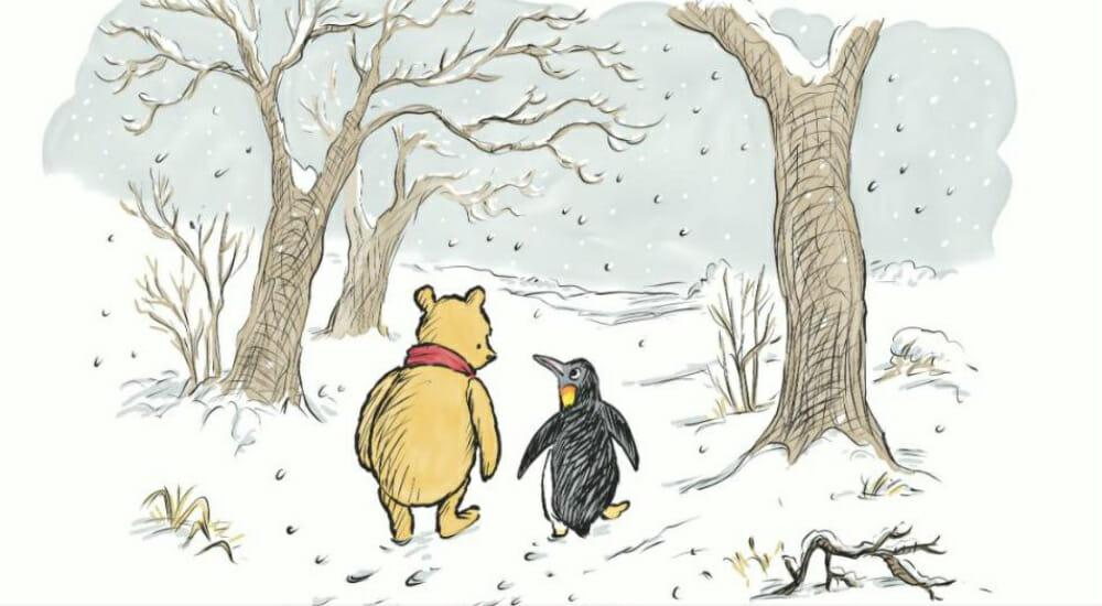 Winnie the Pooh: la storia di un mito dell'infanzia e il suo nuovo amico, un pinguino