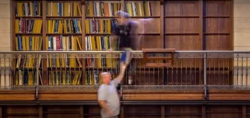 Un video che incanterà gli amanti dei libri