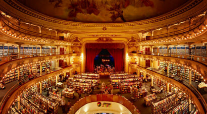 El Ateneo Grand Splendid: le foto della libreria più spettacolare al mondo