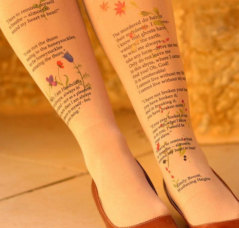 calze letterarie cime tempestose