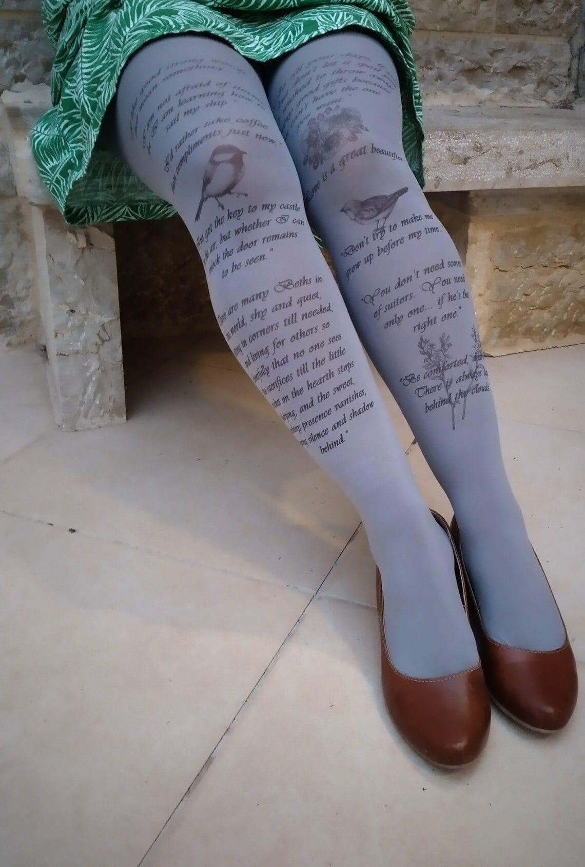 calze letterarie piccole donne