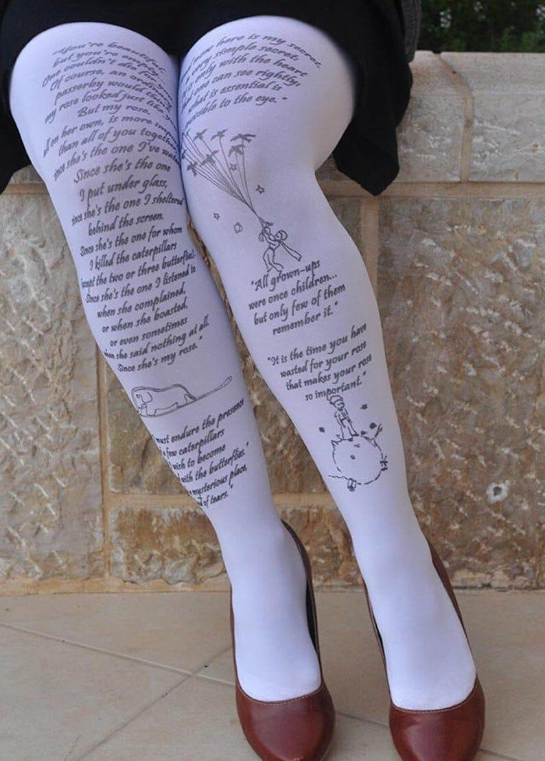 calze letterarie piccolo principe
