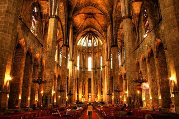 cattedrale del mare - barcellona