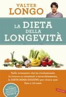 """Copertina Valter Longo """"La dieta della longevità"""""""