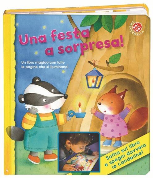 """Super Una festa a sorpresa"""": un libro per bambini che diverte come un  VB76"""