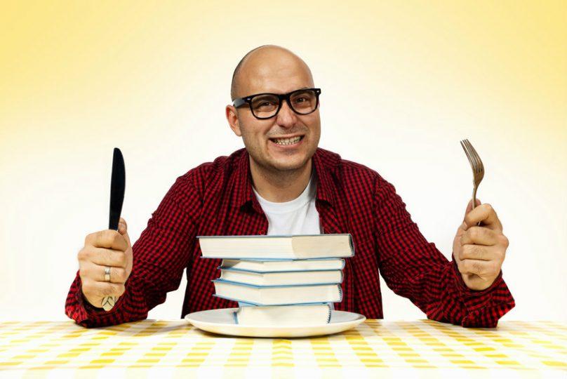 mangiare libri