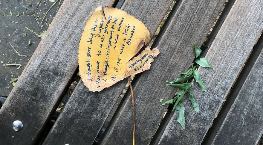 poesia foglie autunno