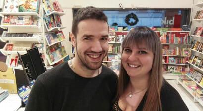 Sotto i portici di Padova apre la libreria di Silvia e Tiano