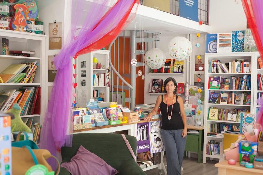 """A Milano c'è Tiritera, la libreria di Cinzia: """"Per bambini da 0 a... 110 anni!"""""""