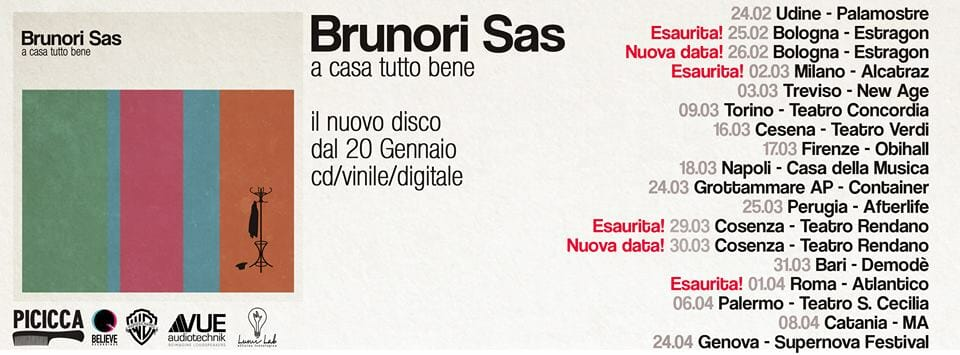brunori sas tour