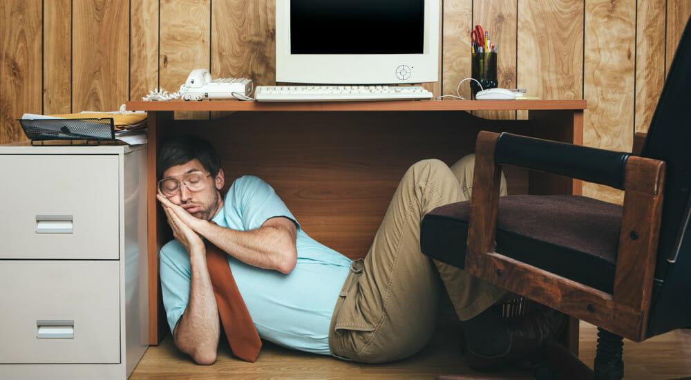 dormire ufficio