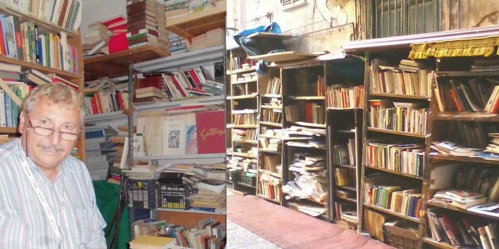 Da Palermo la storia di Pietro, il pensionato-libraio che baratta e regala libri in strada