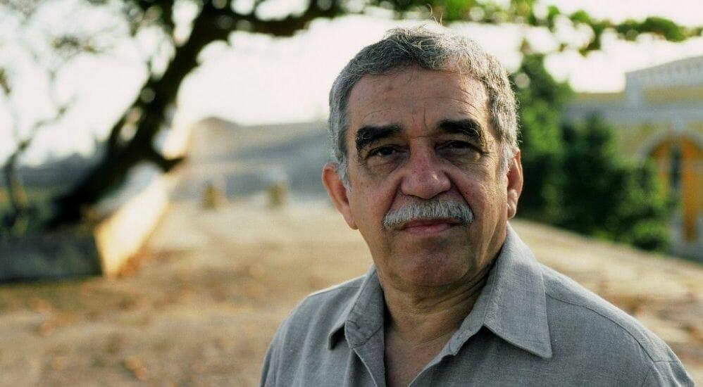 Lo scrittore Gabriel García Márquez