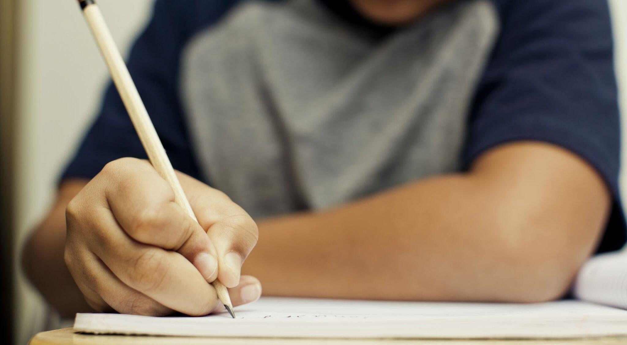 scrivere studenti scuola grammatica
