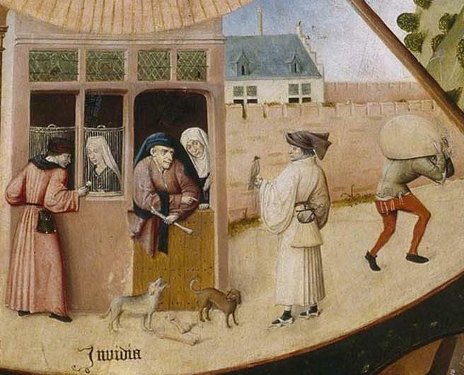 L'invidia di Hieronymus Bosch