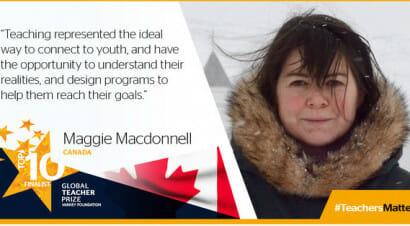 Insegna tra i ghiacci dell'Artico (e si batte per gli  Inuit) la vincitrice del