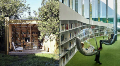 Giro del mondo alla scoperta delle più belle biblioteche e librerie all'aperto...