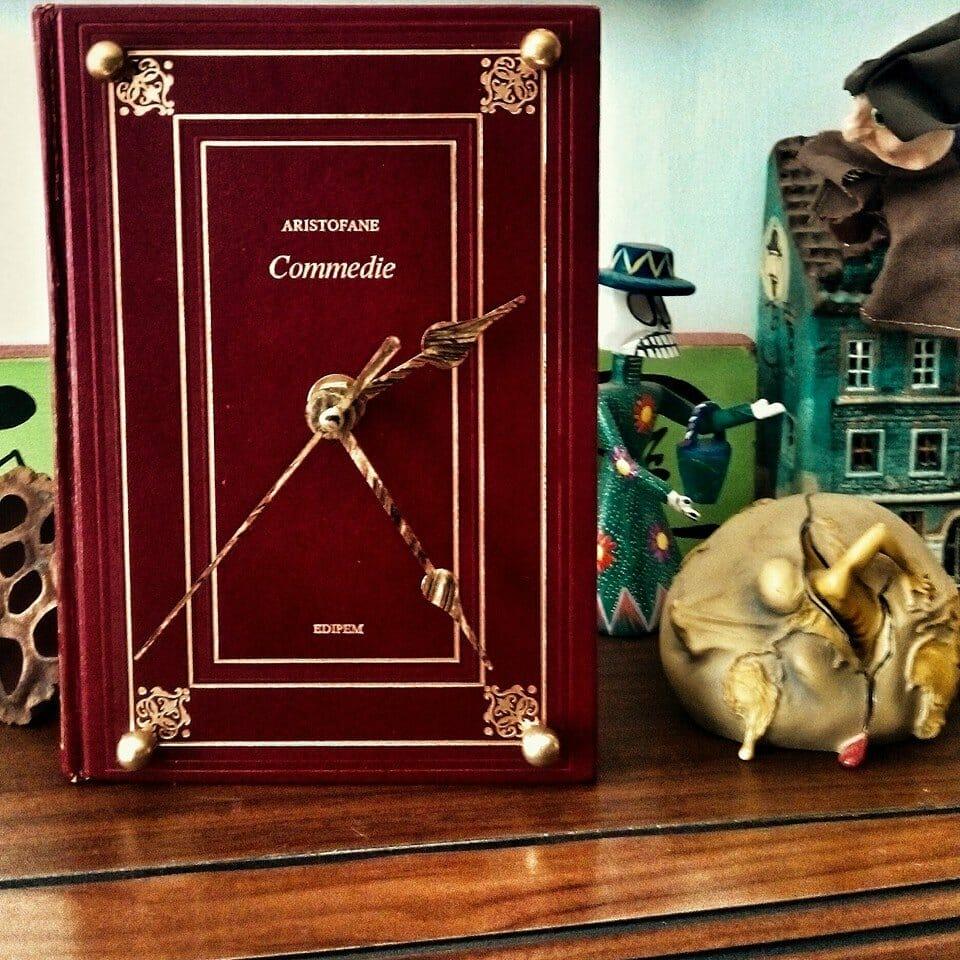 oggetti letterari libri lampade libri orologi follemente officina