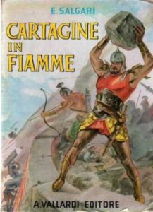 Cartagine in fiamme, di Salgari