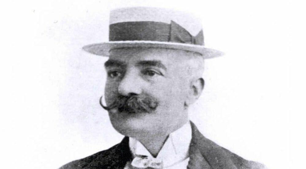 Lo scrittore Emilio Salgari