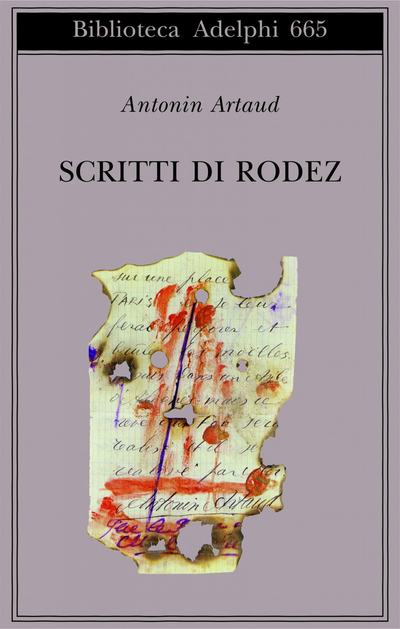 ARTAUD SCRITTI DI RODEZ