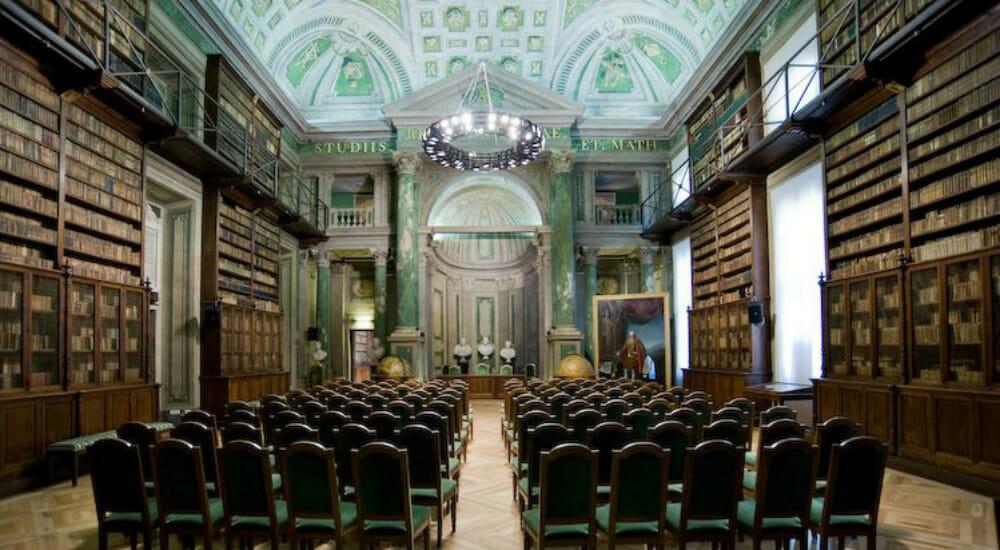 I 60 anni di Bollati Boringhieri nella Sala dei Mappamondi dell'Accademia delle Scienze