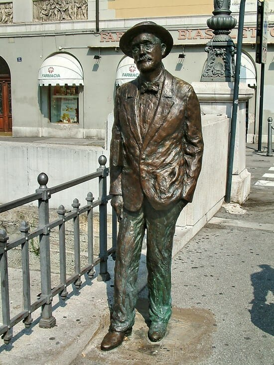 statua james joyce trieste