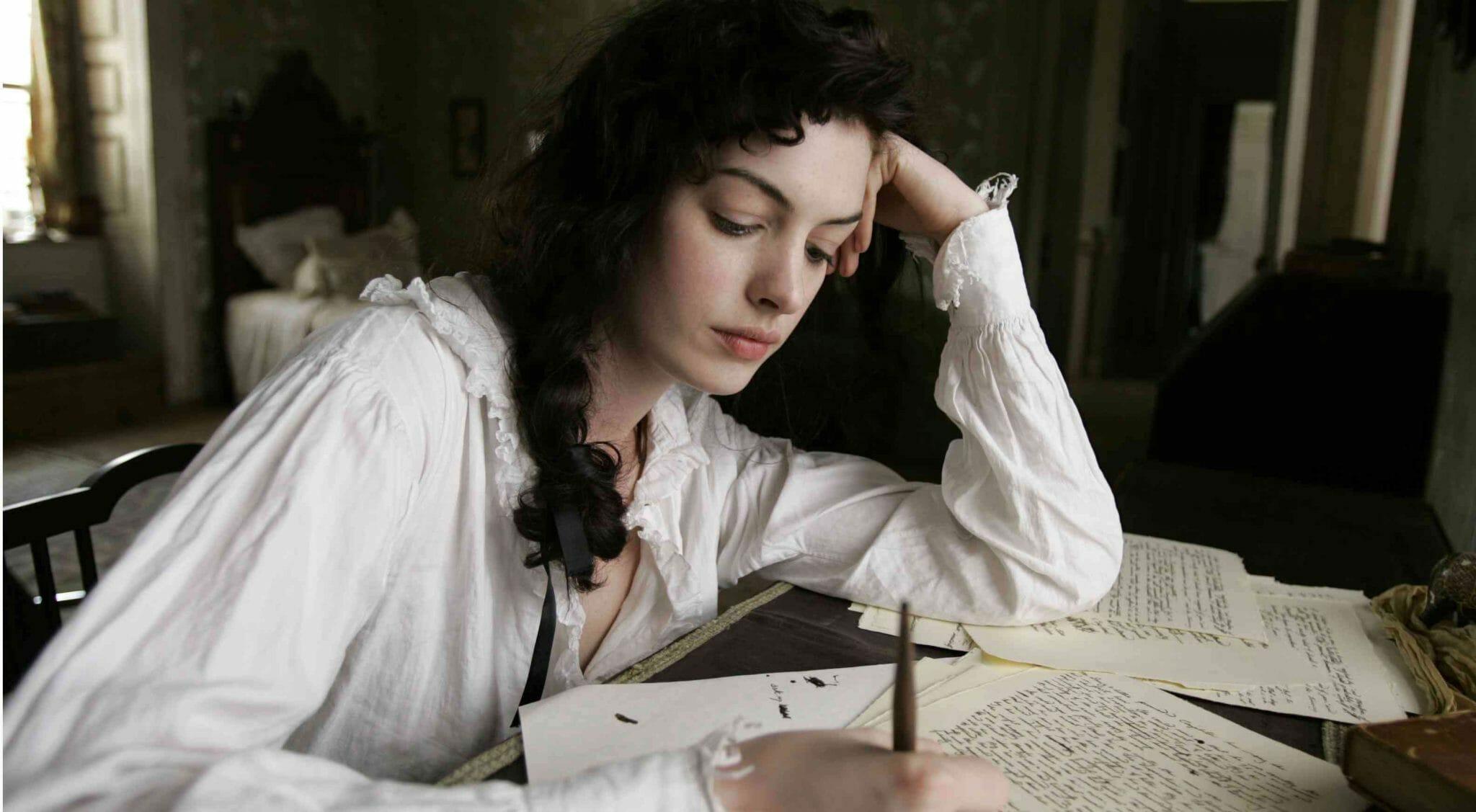 Anne Hathaway interpreta Jane Austen