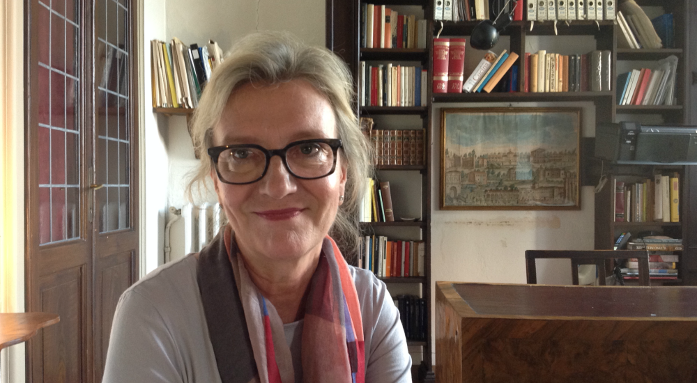 La scrittrice Elizabeth Strout
